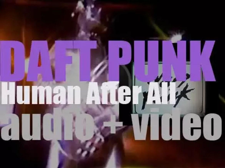Daft Punk release 'Human After All,'  their third album (2005)