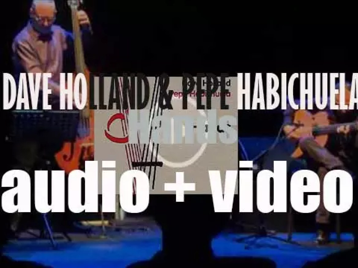 Dave Holland & Pepe Habichuela begin the recording of 'Hands' (2009)