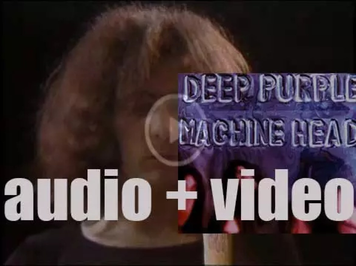 Deep Purple release 'Machine Head,' the album recorded in Montreux that features 'Smoke on the Water' (1971)