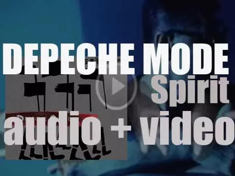 Columbia release 'Spirit' Depeche Mode's fourteenth album (2017)