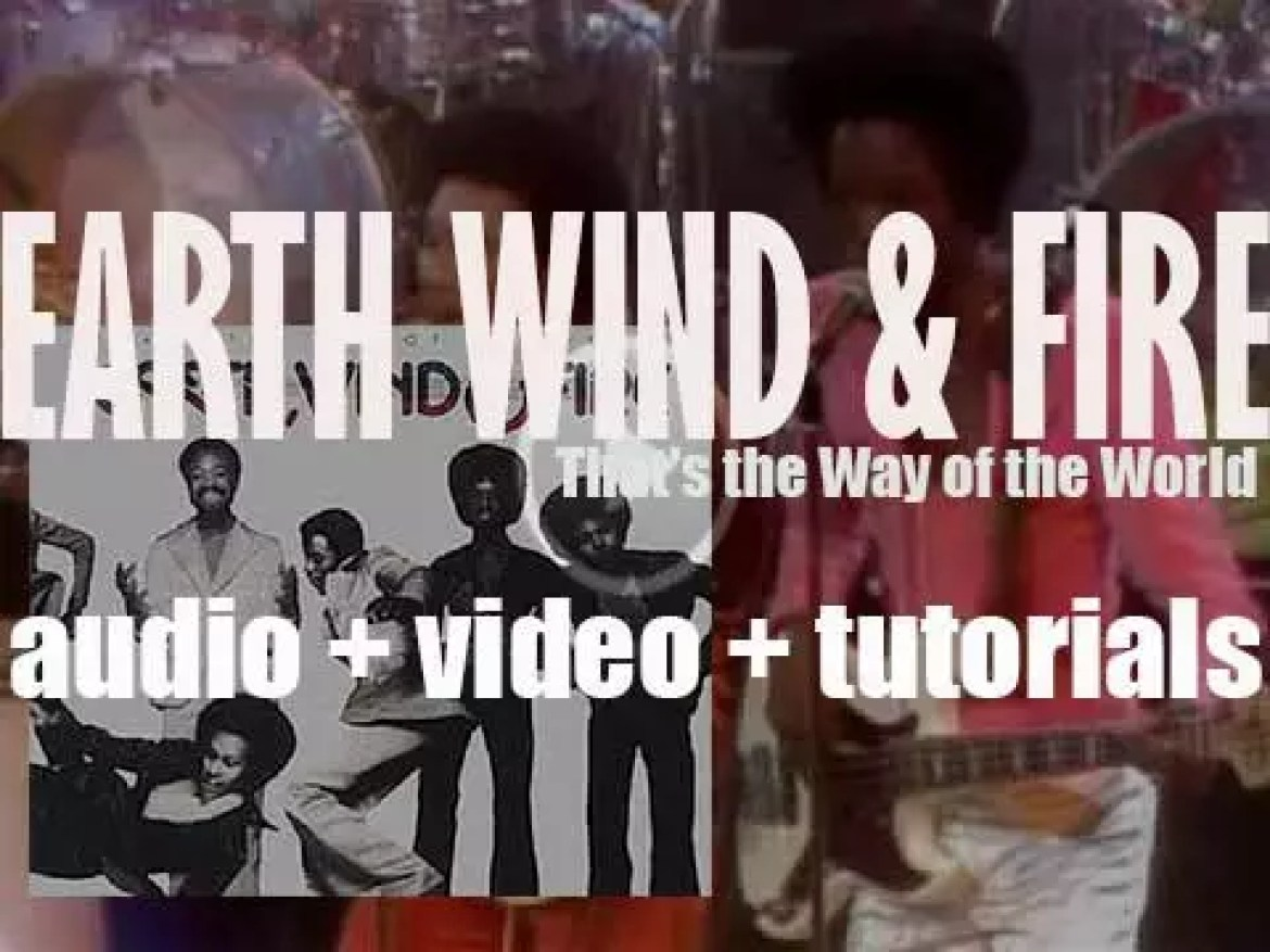 Earth, Wind & Fire release 'That's the Way of the World' featuring 'Shining Star' (1975)
