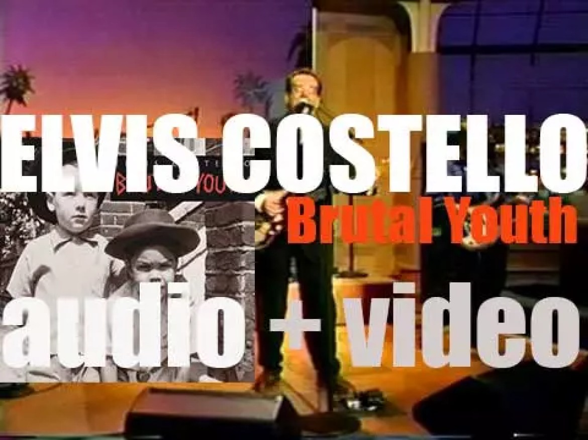 Elvis Costello releases 'Brutal Youth' recorded with The Attractions (1994)