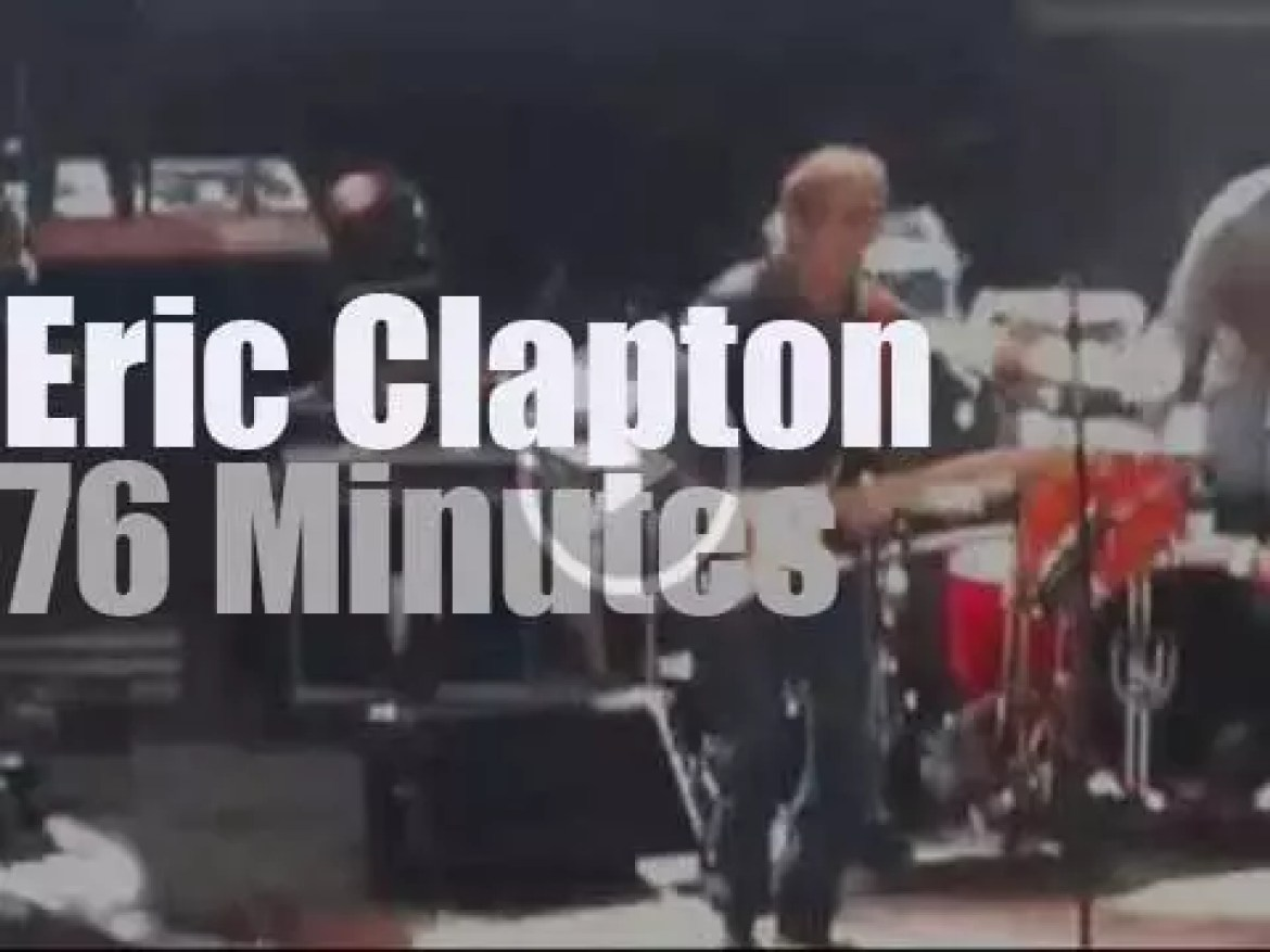 Eric Clapton plays New Orleans Arena (2013)