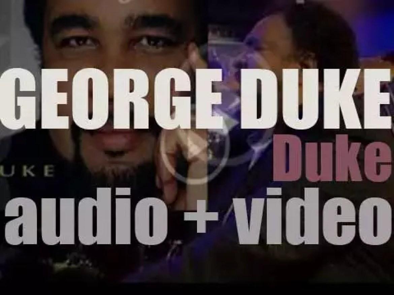 Bizarre Planet publish George Duke's 29th album :  'Duke' (2005)