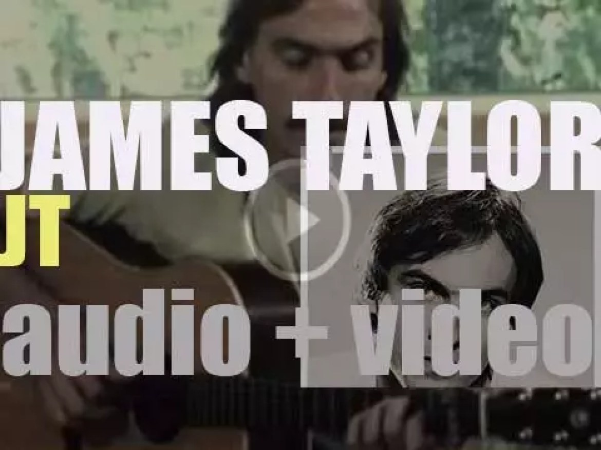 James Taylor records 'JT' his eighth album with producer Peter Asher (1977)