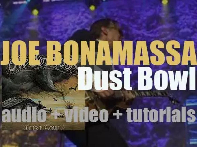 Joe Bonamassa publishes  'Dust Bowl,' his ninth album (2011)