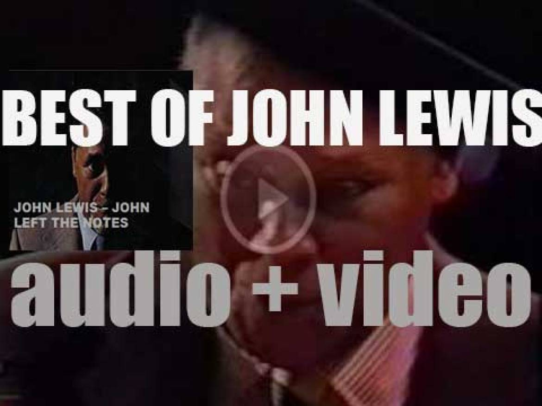 We remember John Lewis of the Modern Jazz Quartet fame. 'John Left The Notes'