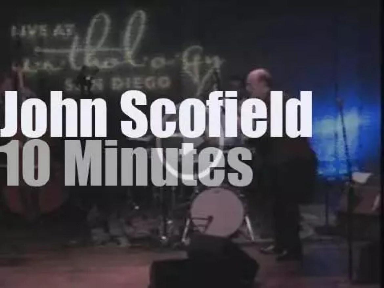 John Scofield performs in San Diego (2010)