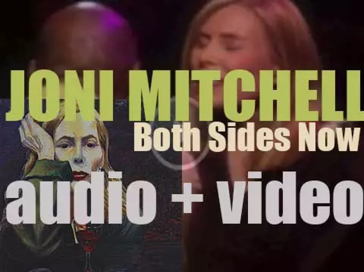 Joni Mitchell releases 'Both Sides Now' featuring jazz songs orchestrated by Vince Mendoza (2000)