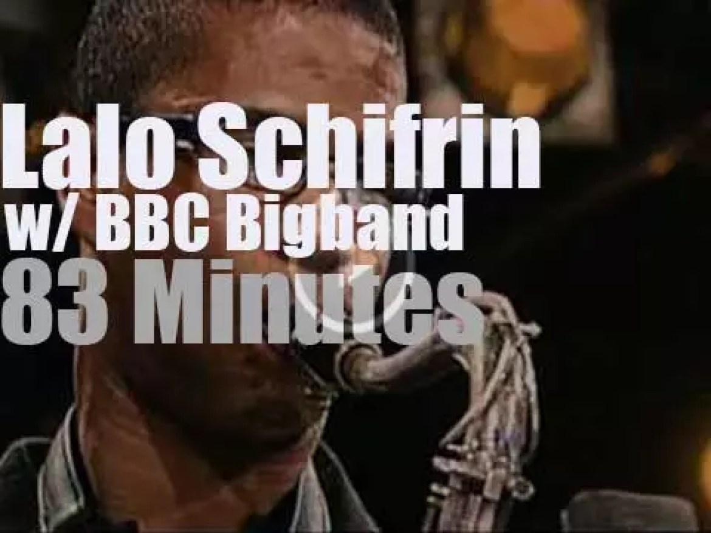 Lalo Schifrin & BBC Bigband at Jazzwoche Burghausen (2006)