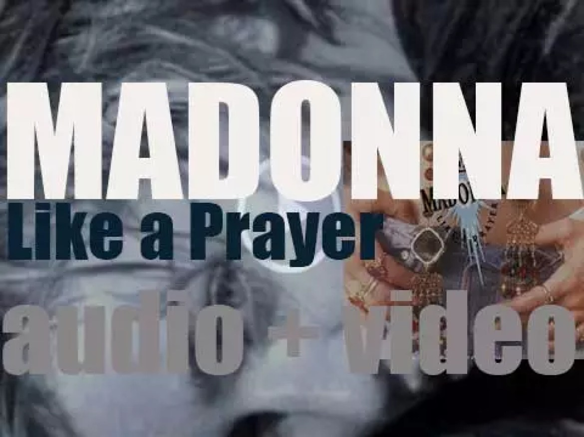 Sire Records release Madonna's fourth album : 'Like a Prayer' featuring 'Express Yourself' (1989)