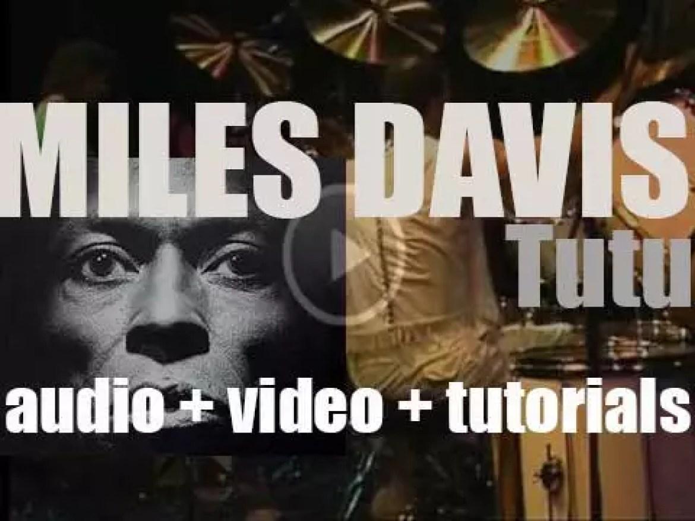 Miles Davis records 'Tutu' in tribute to Desmond Tutu (1986)