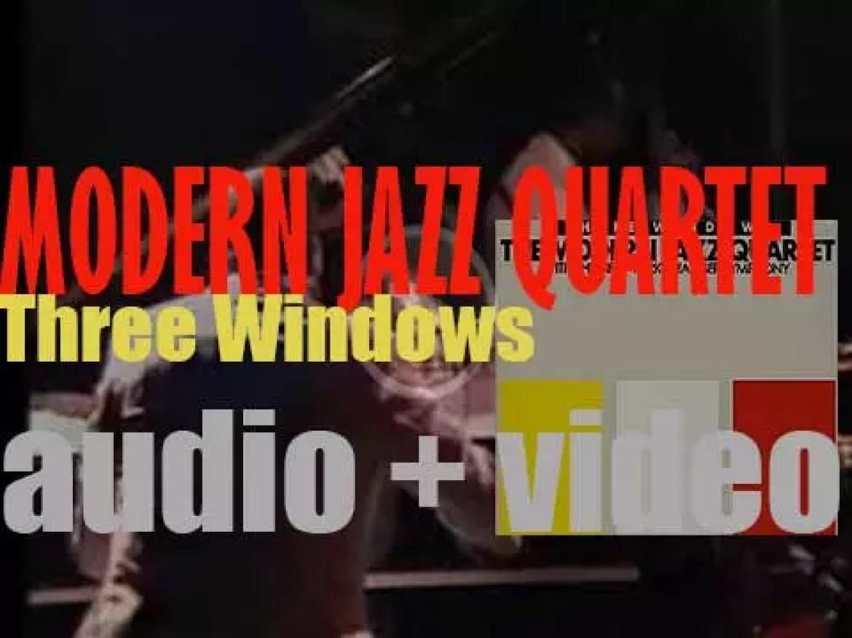 Modern Jazz Quartet record 'Three Windows' with the New York Chamber Symphony (1987)