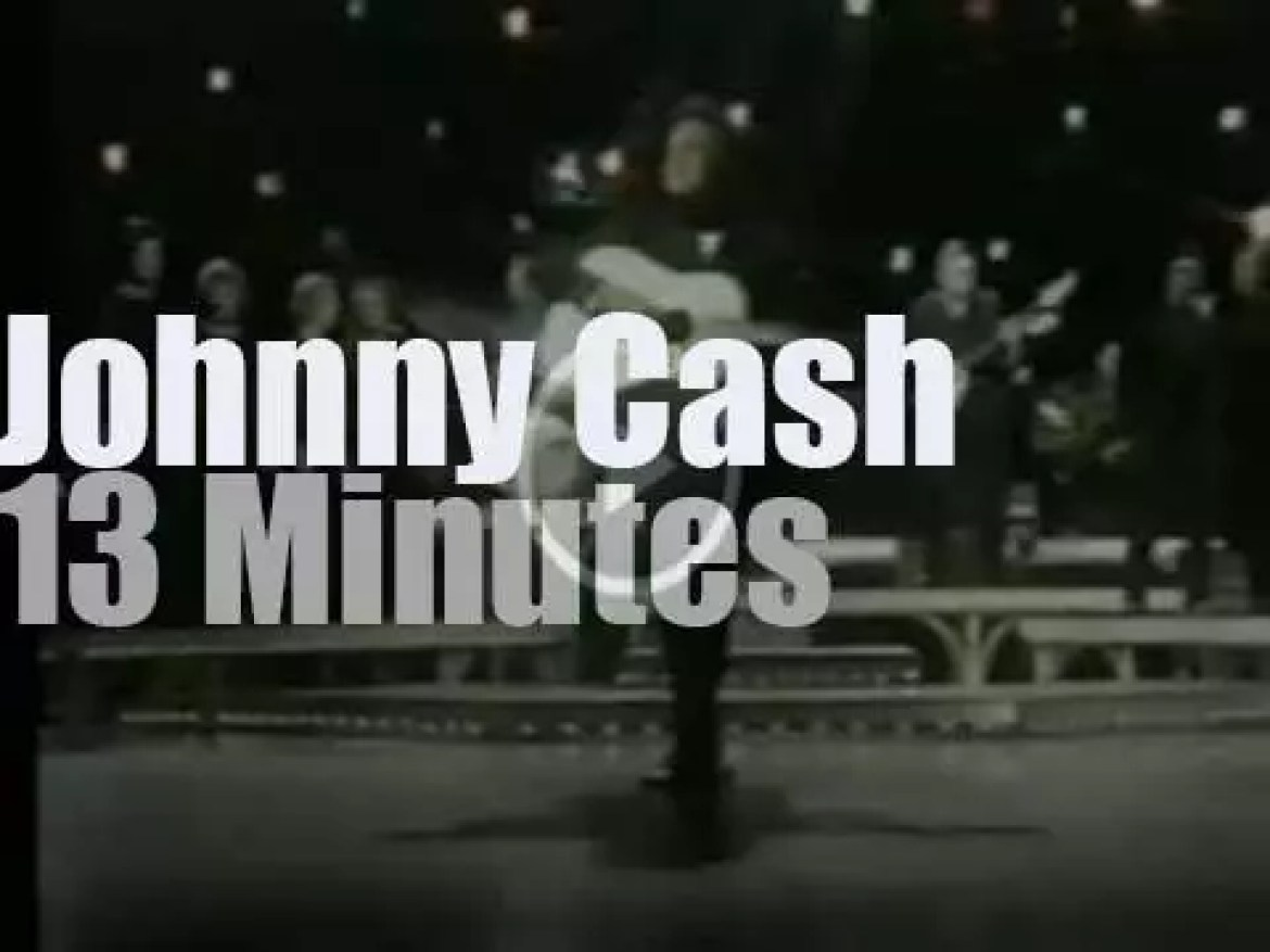 """On TV today,  the last """"Johnny Cash Show"""" (1971)"""