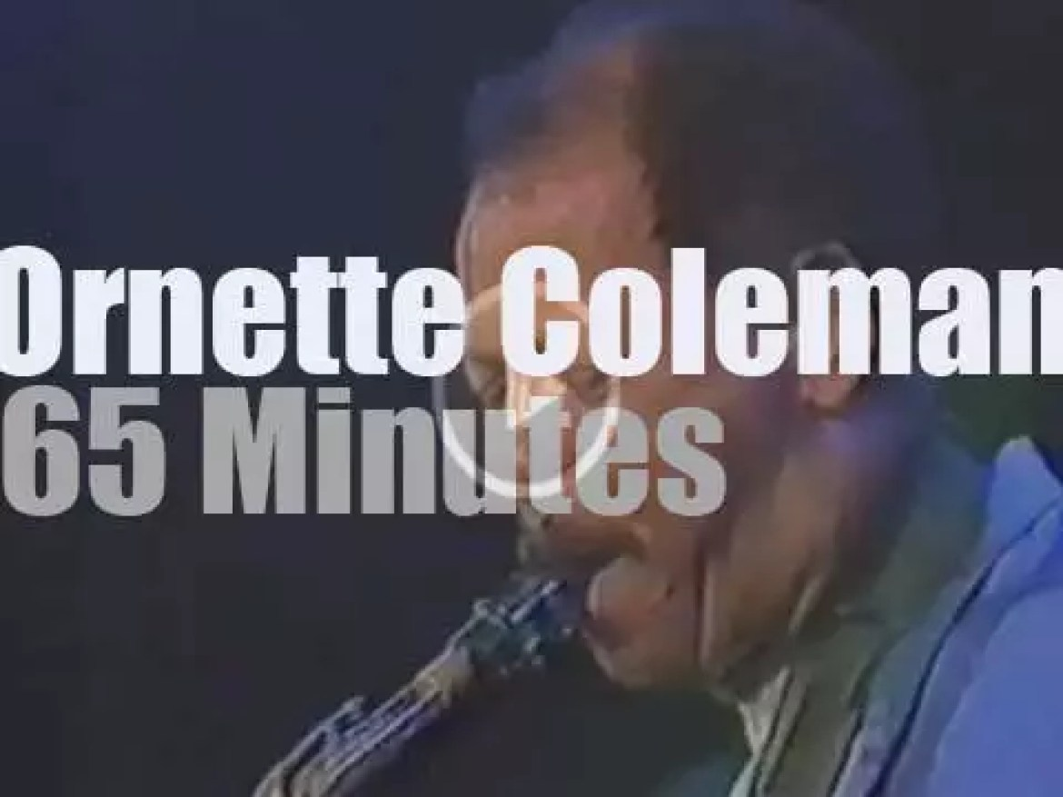 Ornette Coleman Prime Time in Cologne, Germany (1987)