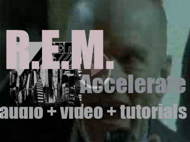 Warner Bros. publish R.E.M.'s fourteenth album : 'Accelerate' (2008)