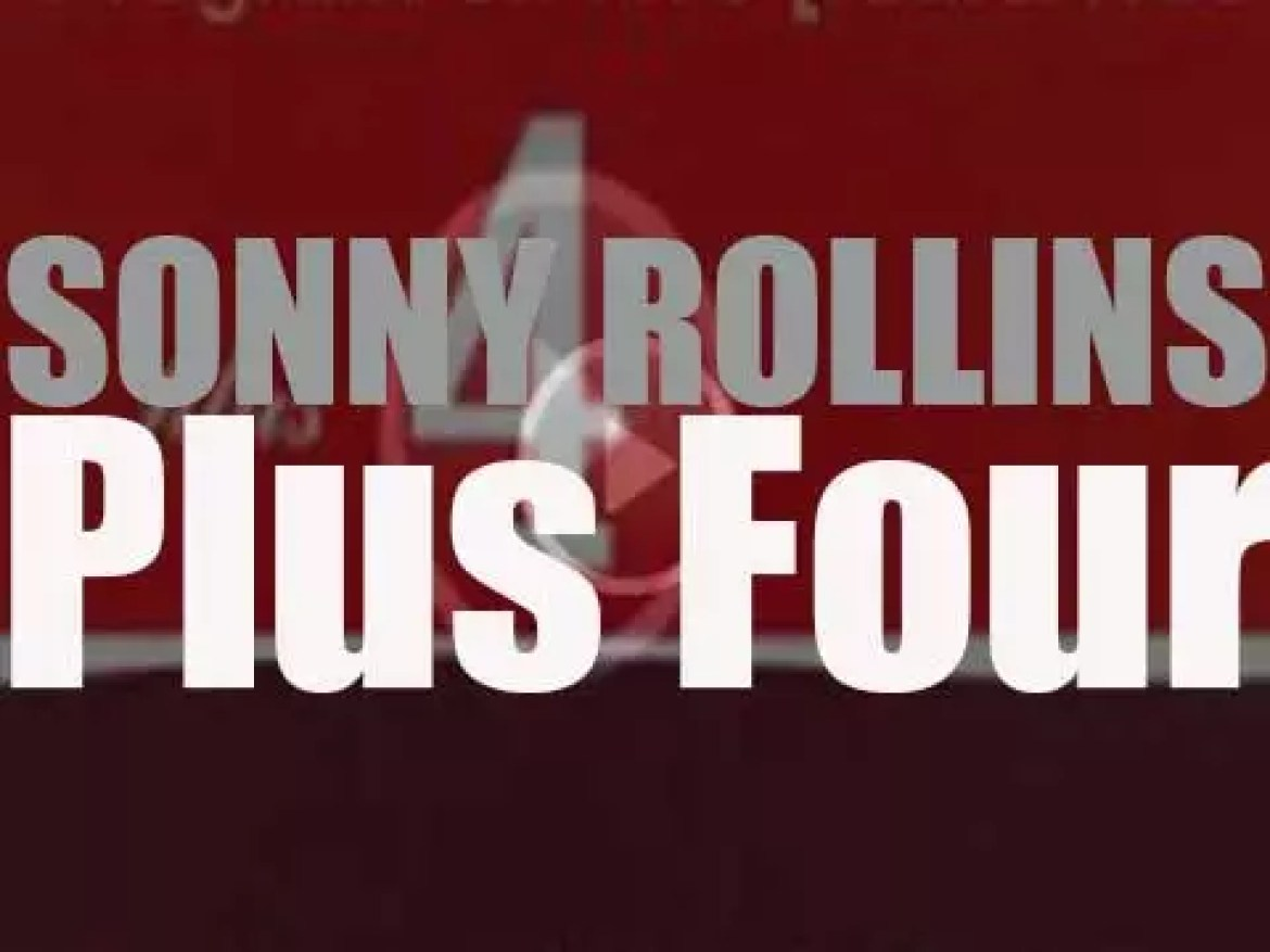 Sonny Rollins records 'Plus Four' with trumpeter Clifford Brown (1956)