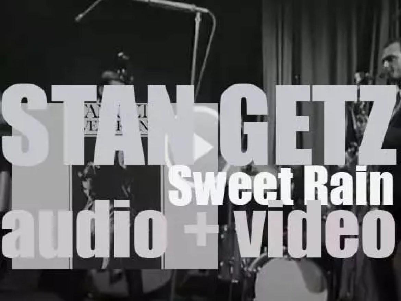 Stan Getz records 'Sweet Rain' with Chick Corea et al (1967)