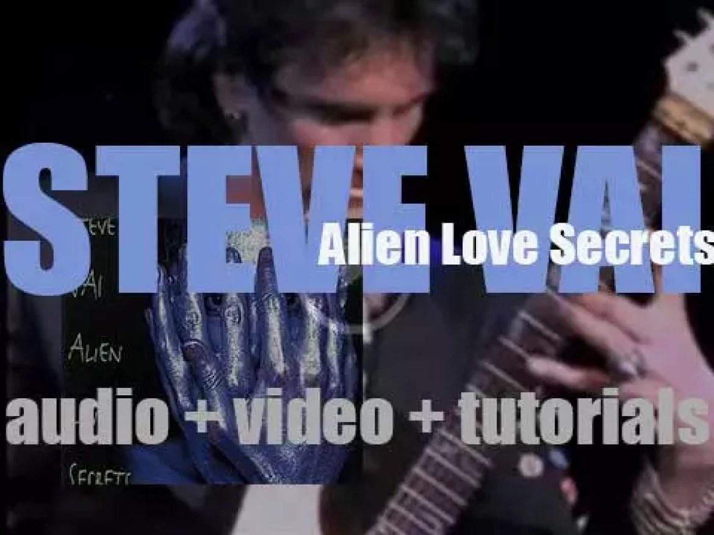 Steve Vai releases  'Alien Love Secrets' (1995)