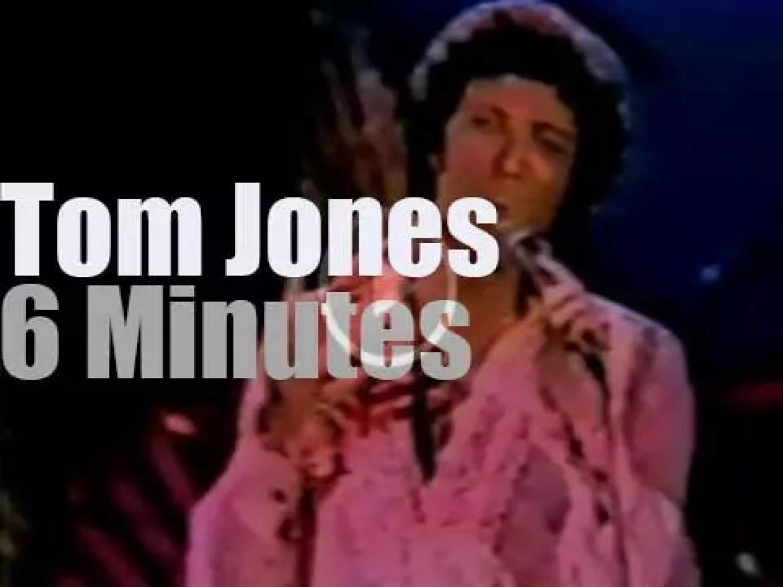 On TV today, Tom Jones celebrates Elvis (1978)