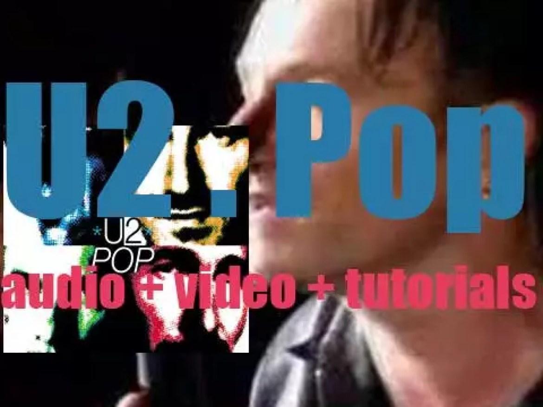 Island Records publish U2's ninth album : 'Pop' featuring 'Discothèque' (1997)