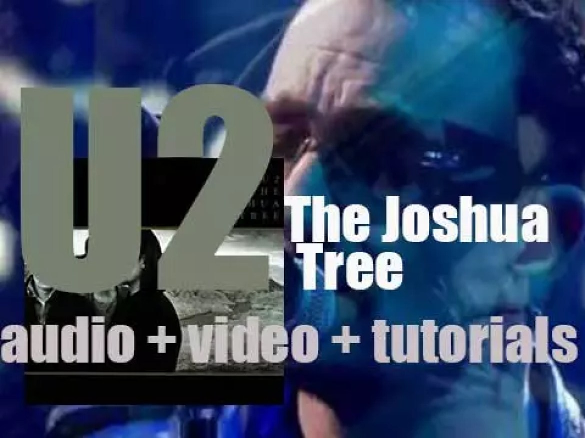 U2 release their fifth album : 'The Joshua Tree' featuring 'With or Without You' and 'Where the Streets Have No Name' (1987)