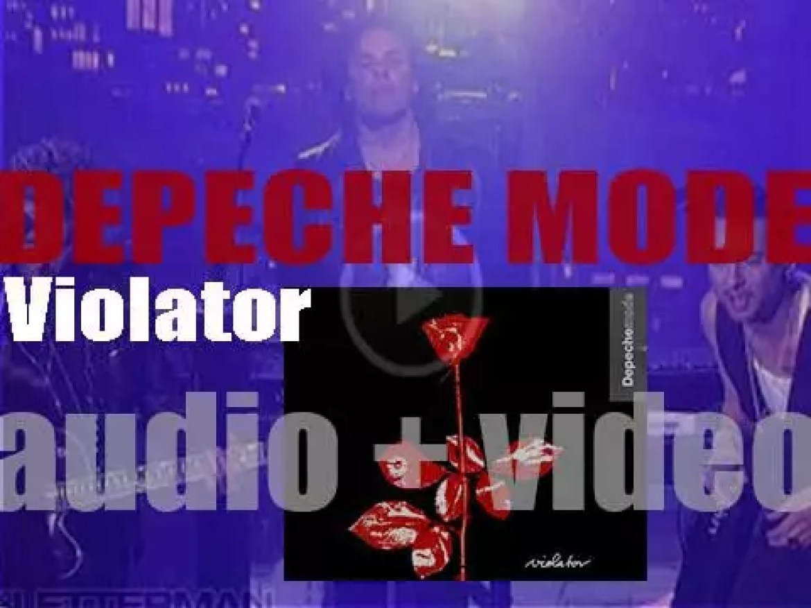 Depeche Mode release 'Violator' featuring 'Personal Jesus' & 'Enjoy the Silence' (1990)