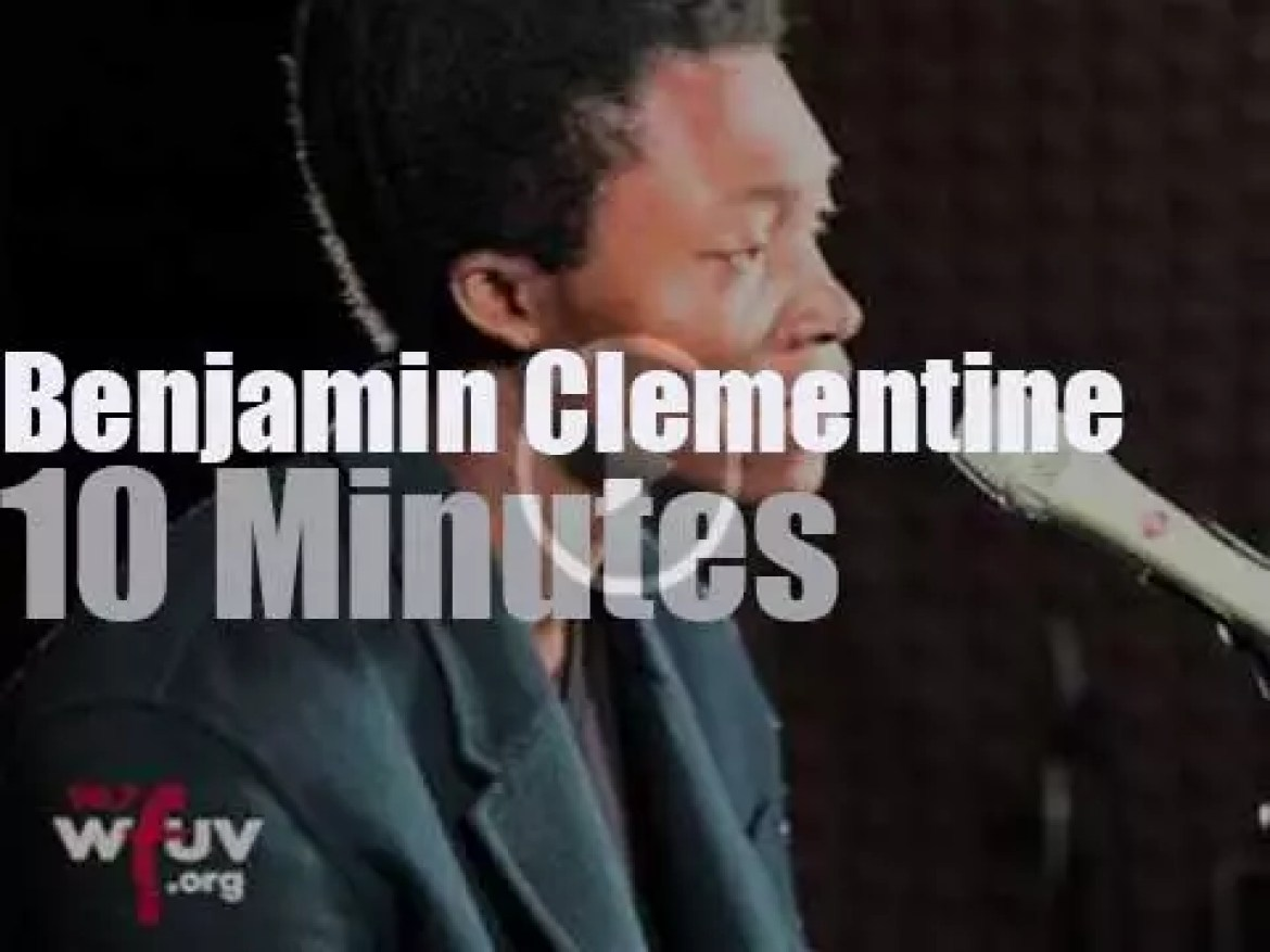 Benjamin Clementine is on WFUV (2015)