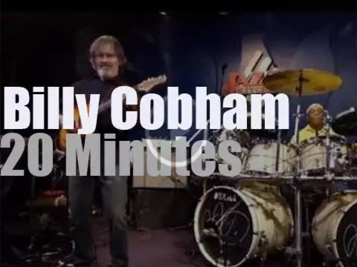 Billy Cobham is in Indianapolis (2015)