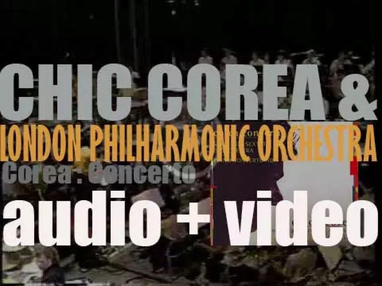 Chick Corea records  'Spain; Piano Concerto No. 1' with Origin & the London Philharmonic Orchestra (1999)