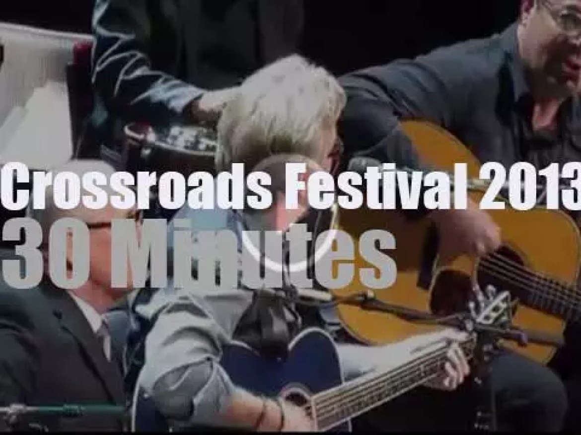 This year Crossroads Festival takes place at MSG (2013)