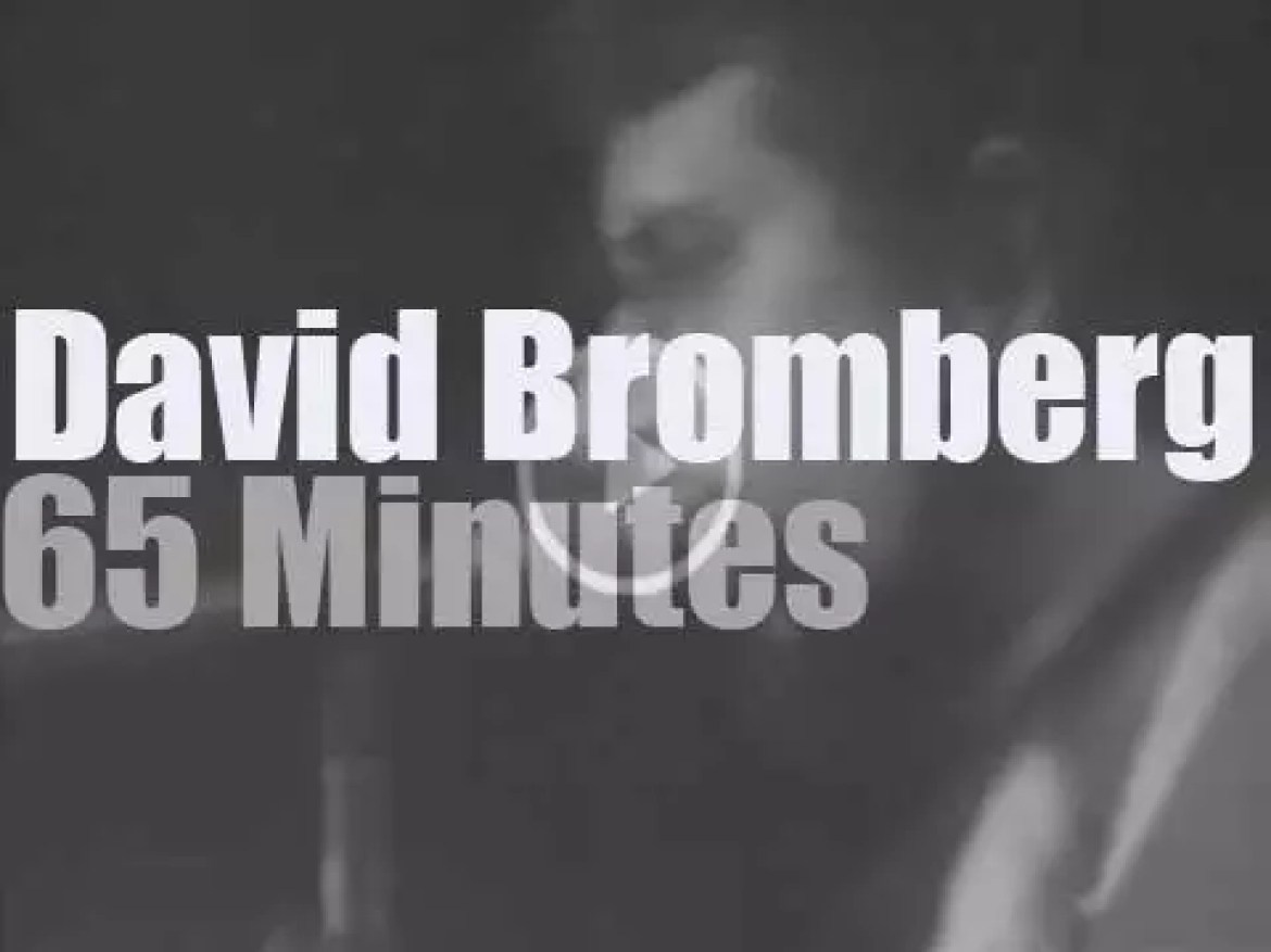 David Bromberg is in New-Jersey (1976)