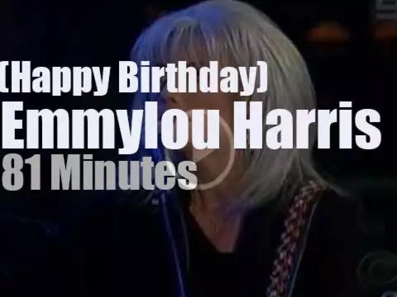 Happy Birthday Emmylou Harris