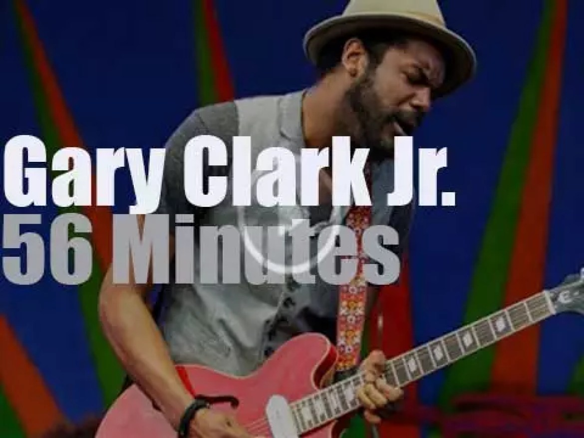 Gary Clark Jr. is at New Orleans JazzFest (2013)