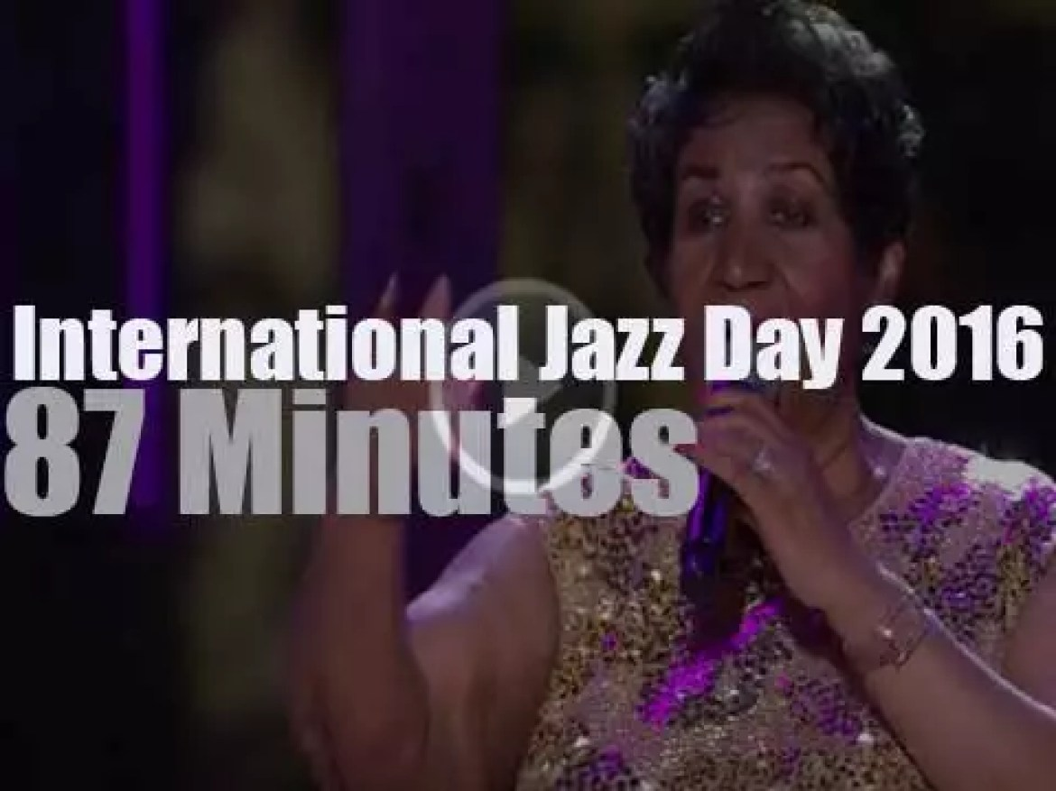 """Fifth  """"International Jazz Day"""" is at The White House (2016)"""