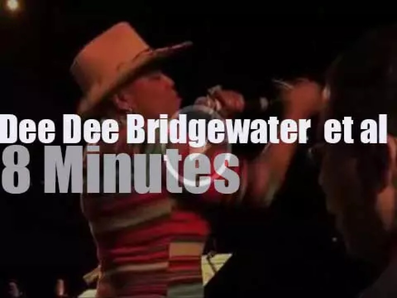 Dee Dee Bridgewater sings , Herbie Hancock plays at  International JazzDay in Paris (2012)