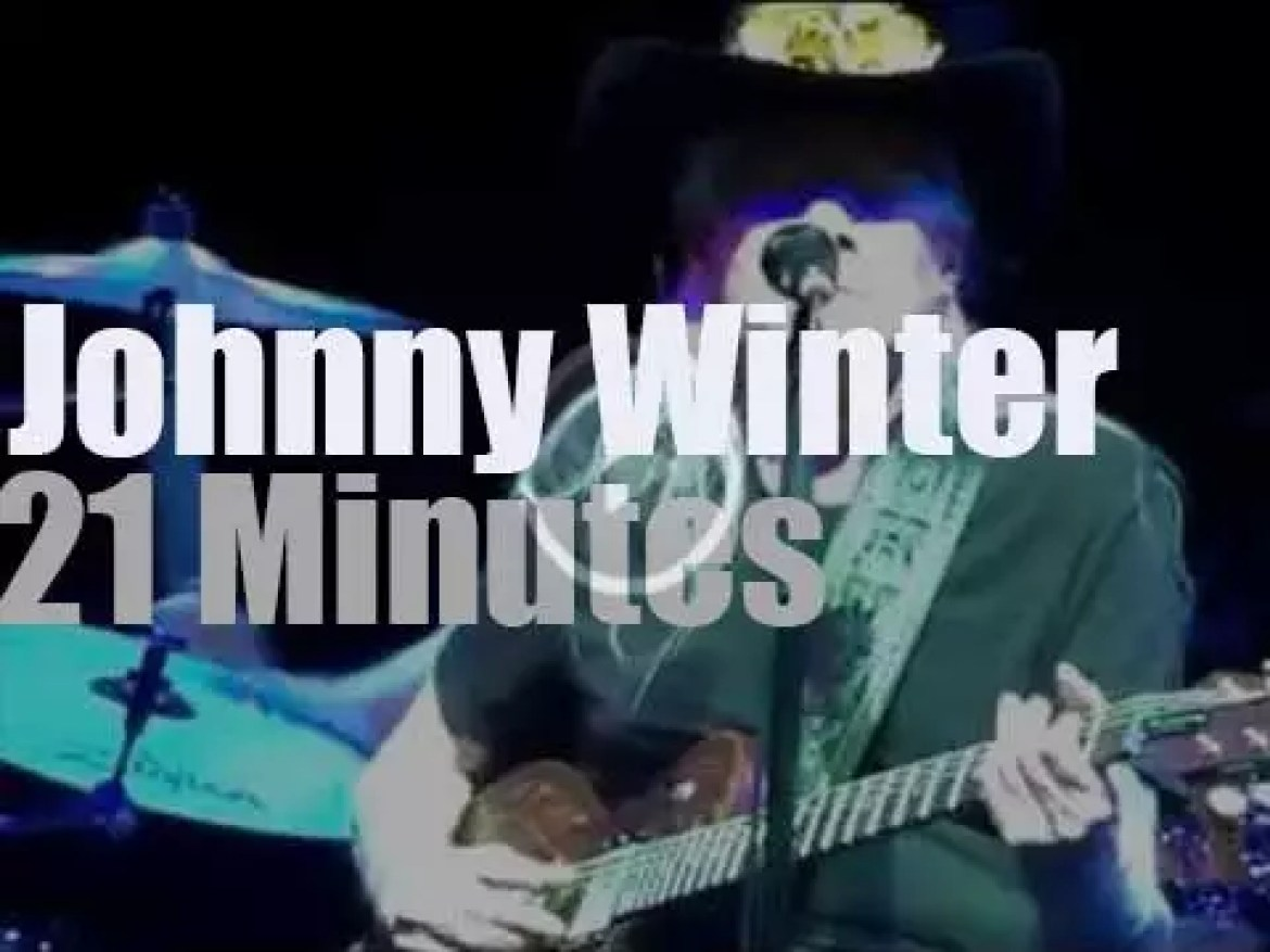 Johnny Winter plays in Beverly Hills (2014)