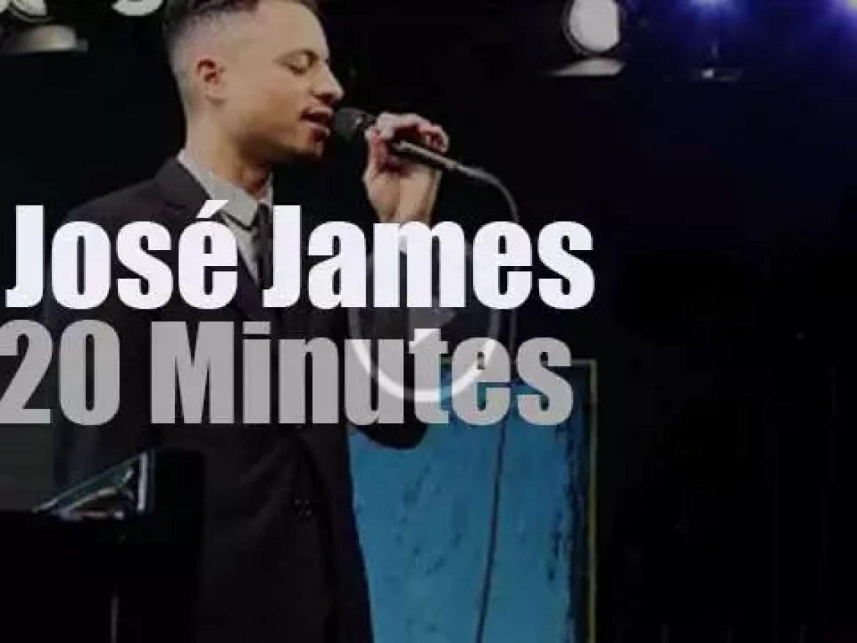 José James celebrates Billie Holiday on Dutch TV (2015)