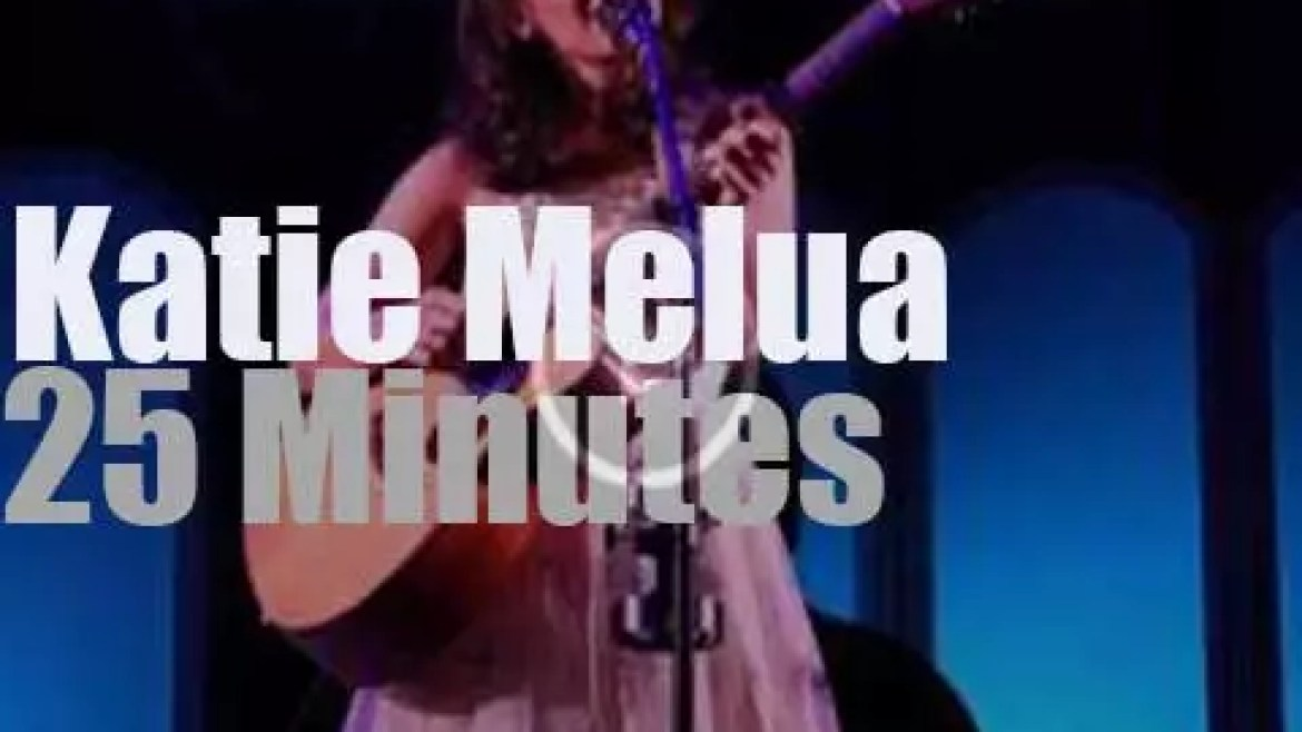 Katie Melua sings in Brussels (2014)