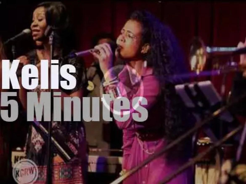 Kelis is Live on KCRW (2014)