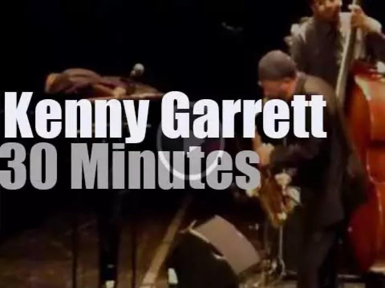 Kenny Garrett Quintet plays near Paris (2013)