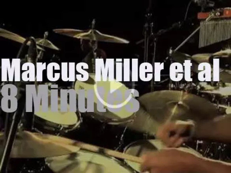 Marcus Miller is at International Jazz Day in Paris (2012)