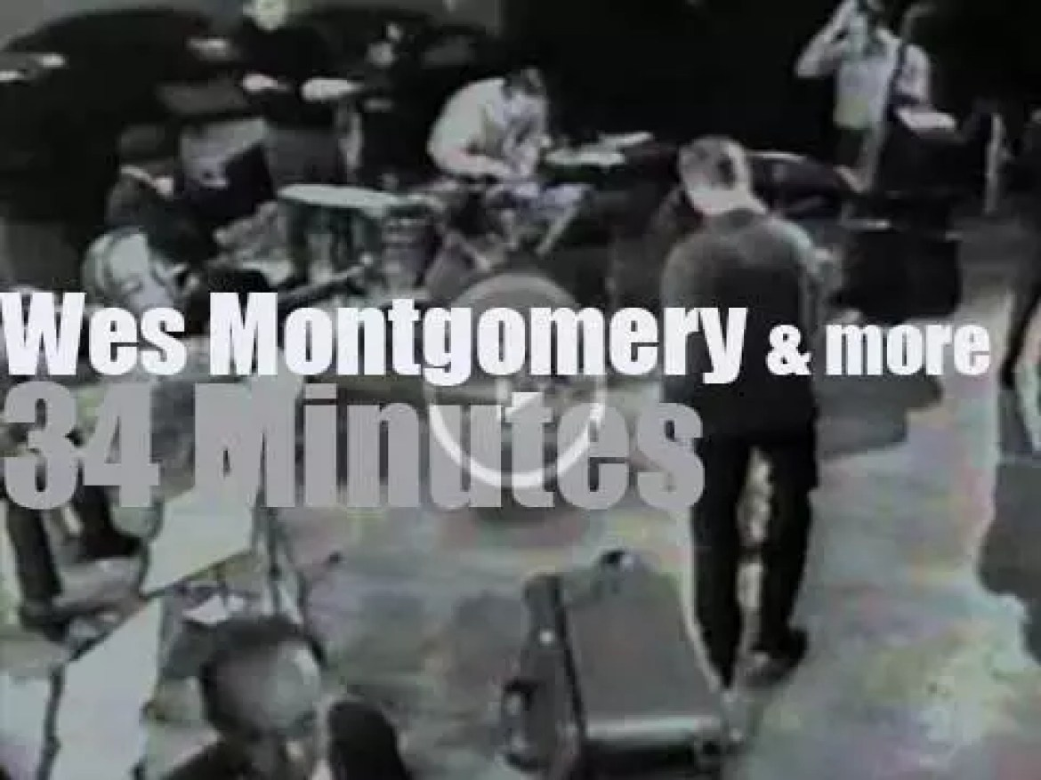 Wes Montgomery, Johnny Griffin et al are on German TV (1965)