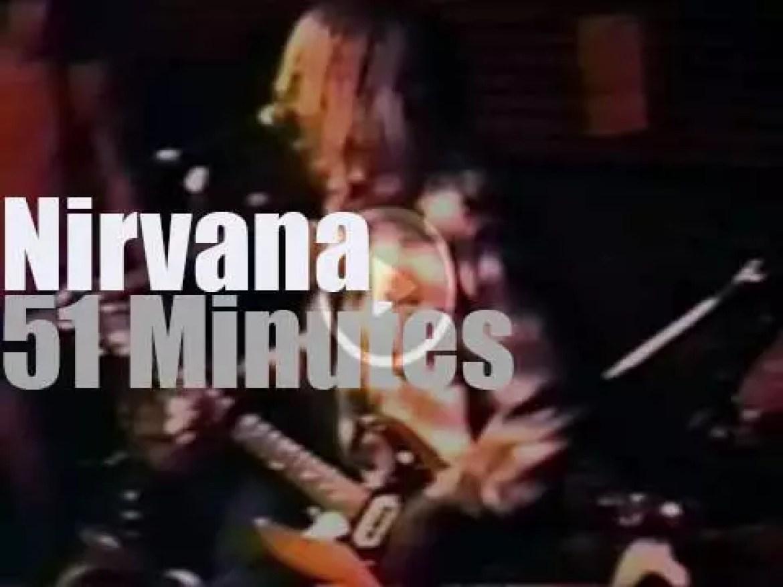 Nirvana at The Blind Pig in Ann Arbor (1990)