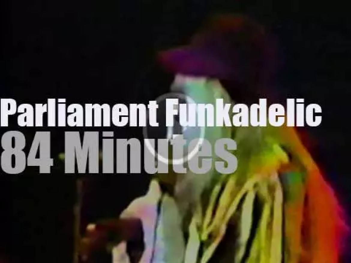 Parliament Funkadelic perform in Maryland (1981)