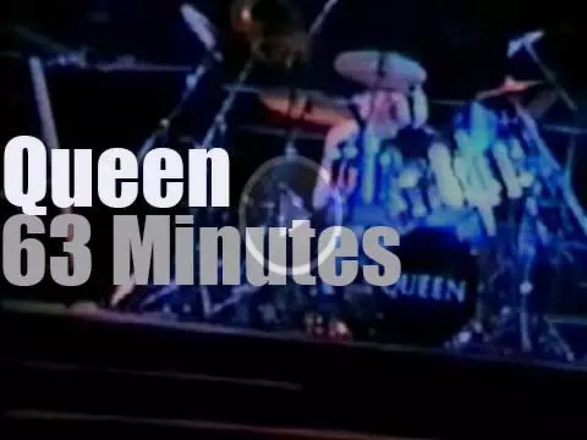 This is Queen's second night In Sydney (1985)