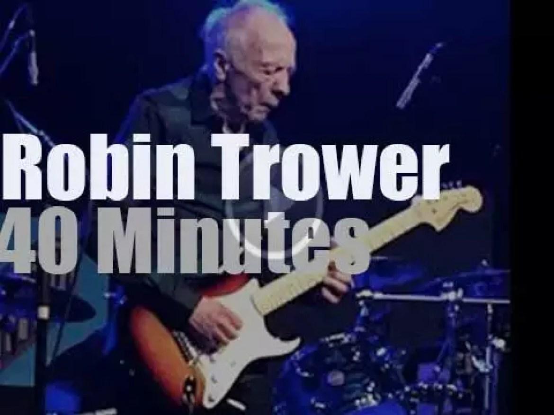Robin Trower plays in Nashville (2016)