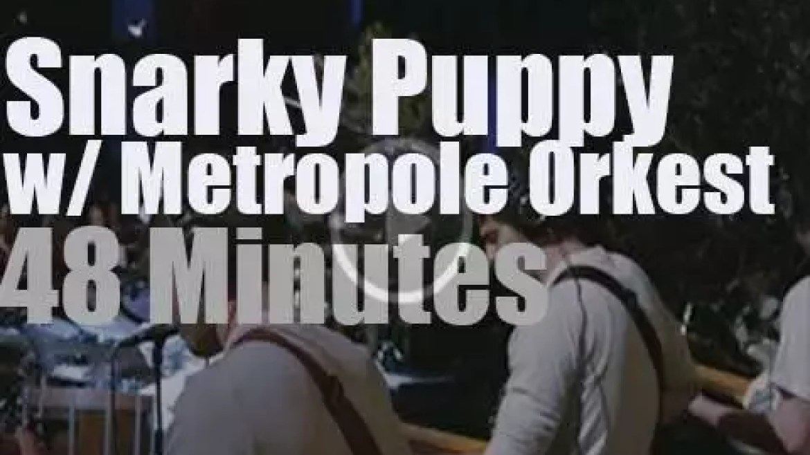 Snarky Puppy record with Metropole Orkest (2014)
