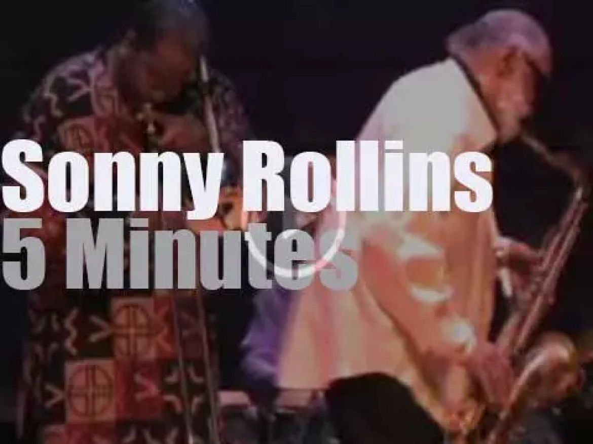 Sonny Rollins plays in California (2009)