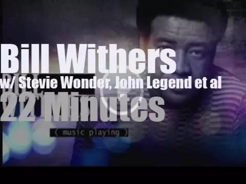 Stevie Wonder, John Legend et al celebrate Bill Withers (2015)